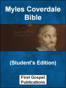 Myles Coverdale Bible (Student's Edition)